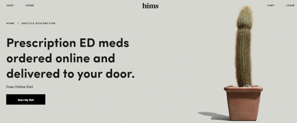 for hims erectile dysfunction pills website snapshot